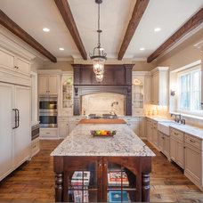 Traditional Kitchen by Greenside Design Build LLC