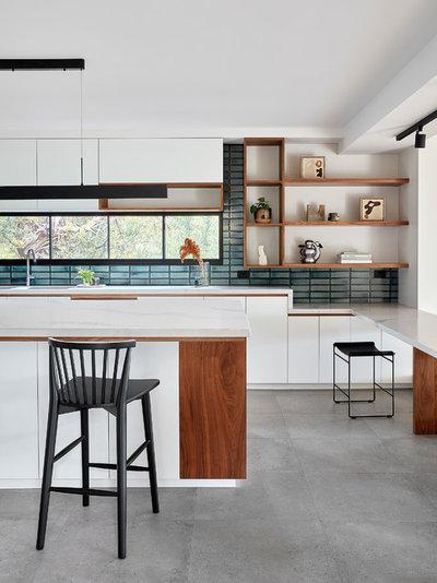 Contemporary Kitchen by Architect Hewson