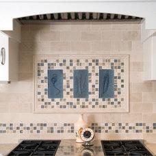 Eclectic Kitchen by Divine Design+Build
