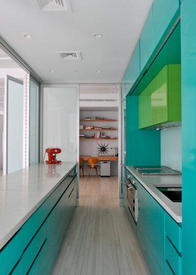 Minimalistisch Küche by BarlisWedlick Architects