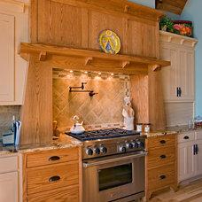 Craftsman Kitchen by HELMAN SECHRIST Architecture
