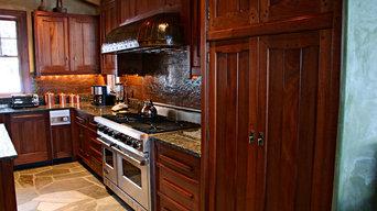 Arts & Crafts/Greene & Greene Style Kitchen