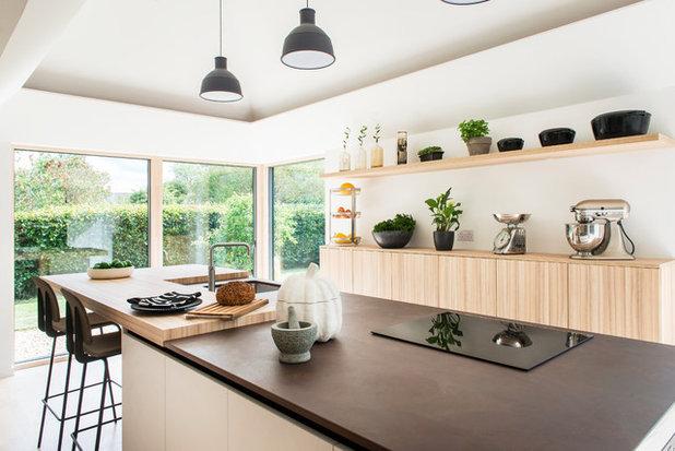 北欧 キッチン by Design Storey