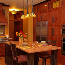 Craftsman Kitchen by Fusion Designed