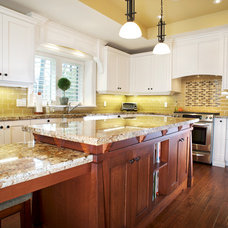 Traditional Kitchen by Belaire Custom Cabinetry
