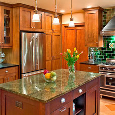 Craftsman Kitchen by Master Remodelers Inc.