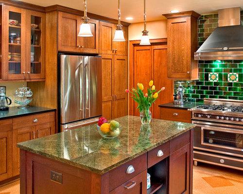 Ideas para cocinas | Fotos de cocinas con suelo de corcho