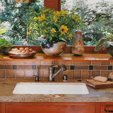 Traditional Kitchen by Nancy Van Natta Associates
