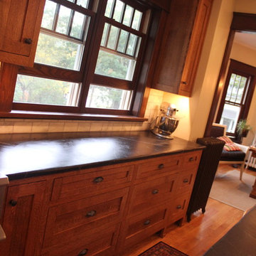 Arts and Crafts Kitchen Remodel
