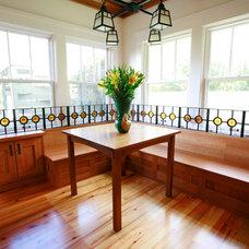 Craftsman Kitchen by Strobel Design Build