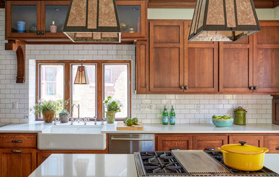 Kitchen of the Week: The Making of an Arts and Crafts Kitchen