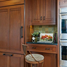 Kitchen by Crown Point Cabinetry