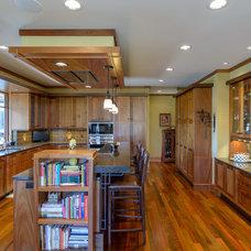 Craftsman Kitchen by SKD Architects