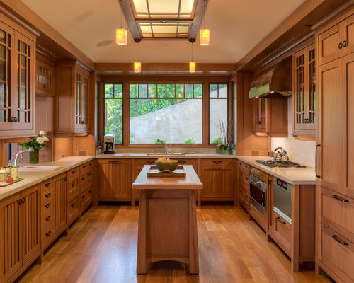 Craftsman Style Cabinets Home Design Ideas Pictures Remodel And Decor
