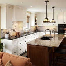 Eclectic Kitchen by Interior Works Inc