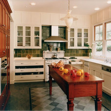 Mediterranean Kitchen by Mueller Nicholls Cabinets and Construction