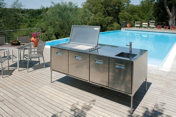 Pranzo all aperto guida alle diverse tipologie di cucine per esterno - Aerazione gas cucina ...
