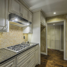 Traditional Kitchen by Custom Home Remodeling By Hamza