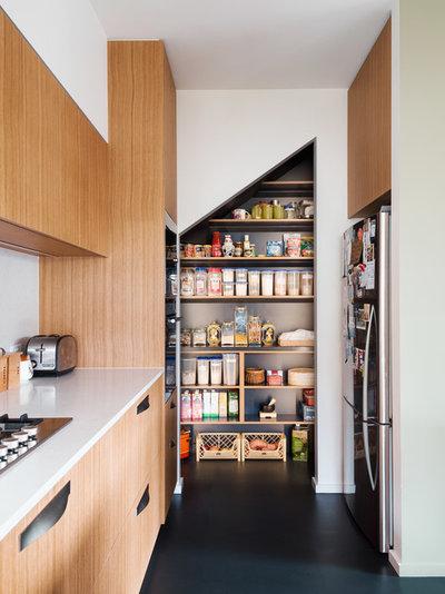 コンテンポラリー キッチン by Gardiner Architects
