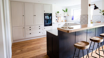 Ash and oak classic shaker kitchen