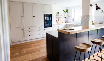 Ash and oak classic shaker kitchen