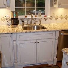 Traditional Kitchen by JandB Kitchen Designs