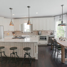 Farmhouse Kitchen by Synergy Design & Construction