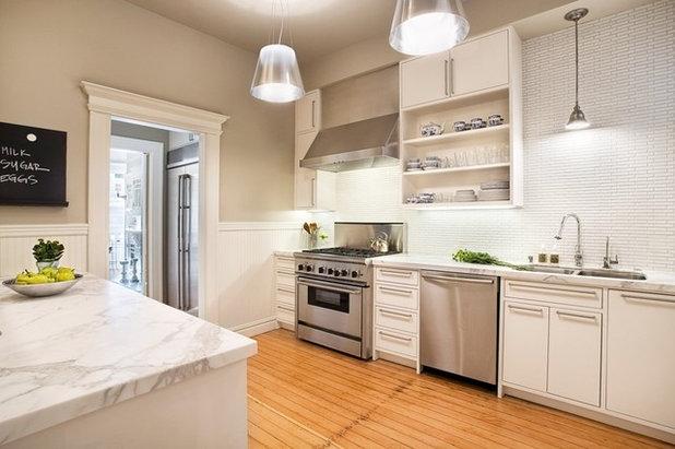 Contemporary Kitchen by designpad architecture  - Patrick Perez Architect