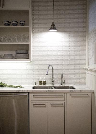 Современный Кухня by designpad architecture - Patrick Perez Architect