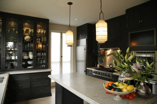 Transitional Kitchen by Candace Barnes