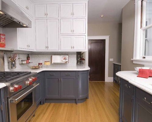 Lovely Inspiration For A Contemporary Kitchen Remodel In San Francisco With  Stainless Steel Appliances, Recessed