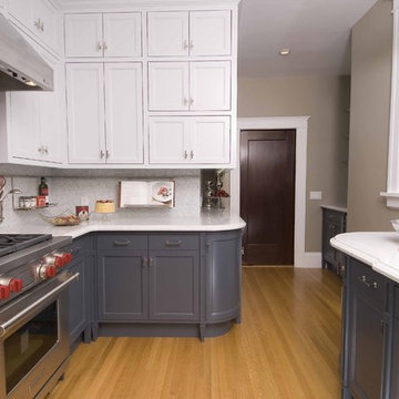 Ashbury Heights Victorian's Remodeled Kitchen