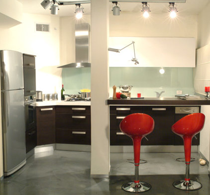 contemporary kitchen by Asher Elbaz