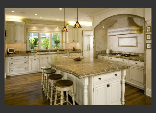 Mediterranean Kitchen by Ashford Associates