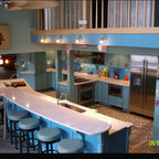 Mountain Contemporary Kitchen Contemporary Kitchen
