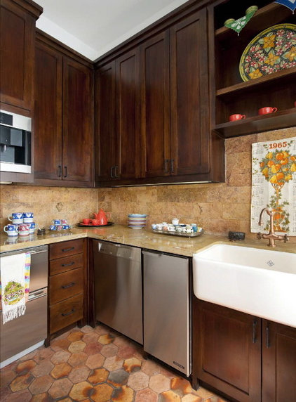 Eclectic Kitchen by Astleford Interiors, Inc.