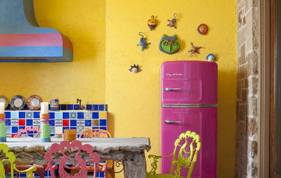 See 5 Homes That Explode With Color