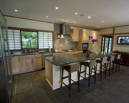 Asian Contemporary Kitchen