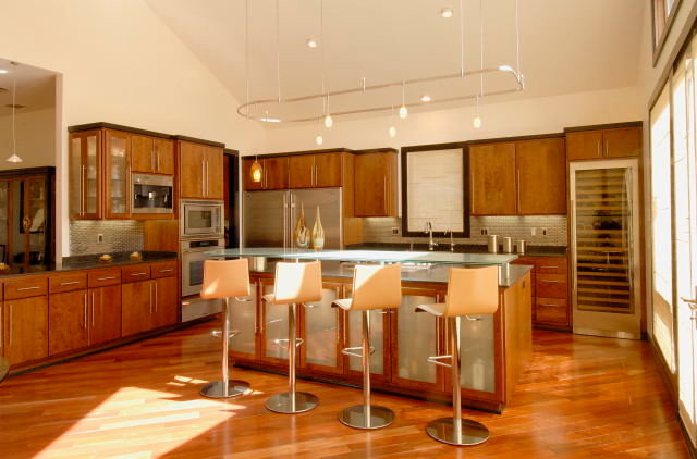 Contemporary Kitchen by Morse Remodeling, Inc. and Custom Homes