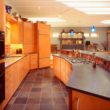 Asian Kitchen by Sawhill Kitchens