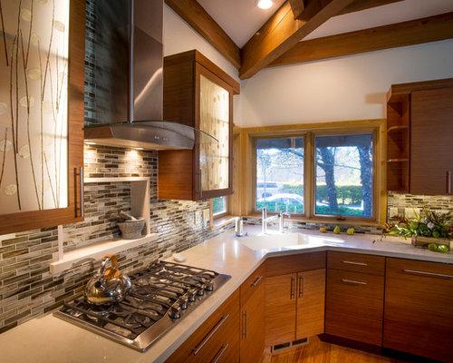 Cucina etnica con top in marmo - Foto e Idee per Ristrutturare e ...
