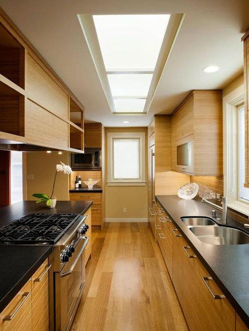 Feng shui decorating galley kitchen design ideas renovations photos - Feng shui kitchen design ...