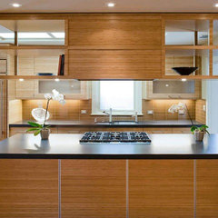 asian kitchen by Koch Architects, Inc.  Joanne Koch