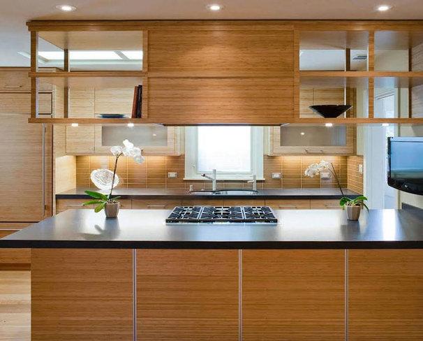 Contemporary Kitchen by Koch Architects, Inc.  Joanne Koch