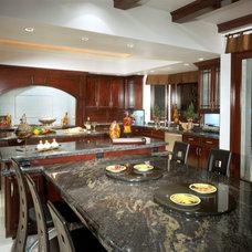 Asian Kitchen by Berni Greene, ASID, CID, IIDA