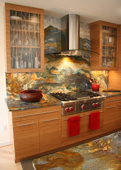Asian Kitchen by Grayling Construction