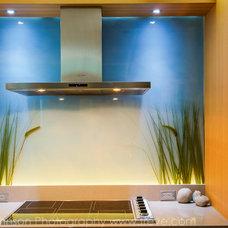 Asian Kitchen by Treve Johnson Photography