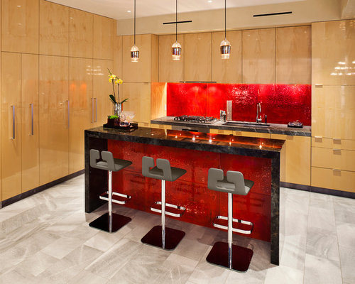 red backsplash ideas, pictures, remodel and decor,Red Backsplash Kitchen,Kitchen ideas