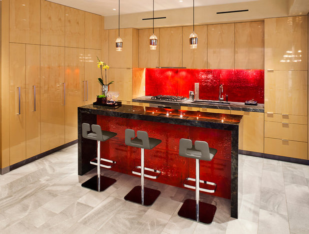 Contemporary Kitchen by About Space Studios