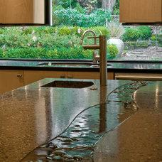 Asian Kitchen by Midori Yoshikawa Design Group